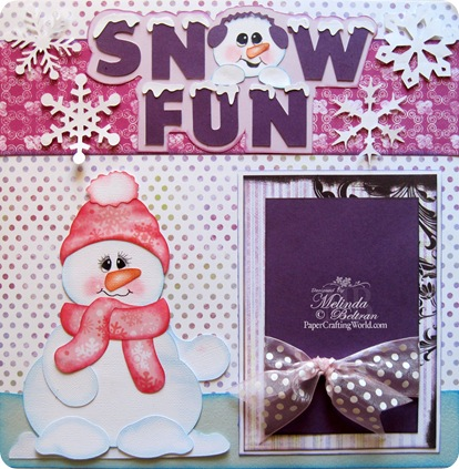 snow fun layout