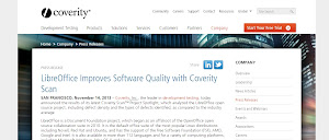 Coverity - LibreOffice