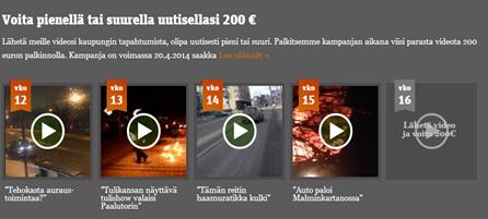 Lähetä video ja voita 200 euroa! metro.fi
