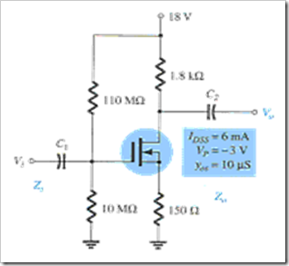 MCQs in FET Amplifiers Fig. 11