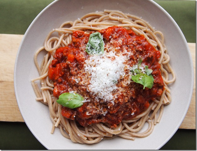 bolognese sauce 1