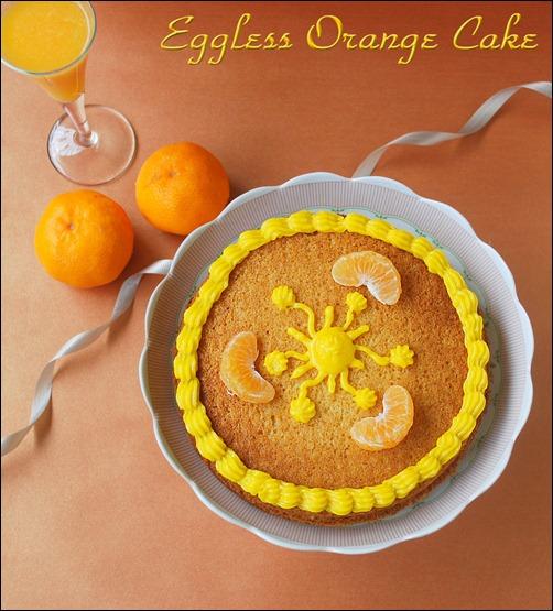 Eggless Orange Cake Rak S Kitchen