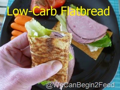 Low-Carb Flatbread