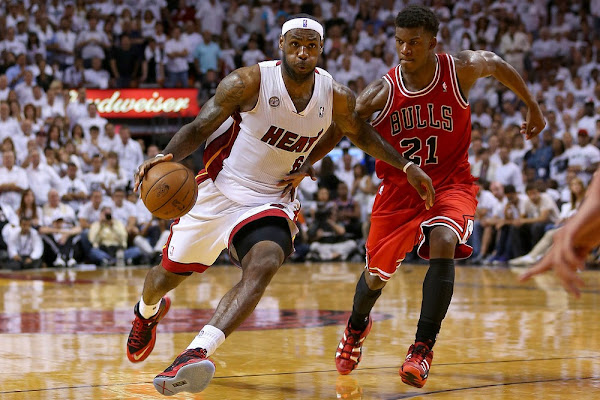 LeBron James Heat top Bulls and Reach Eastern Conference Finals