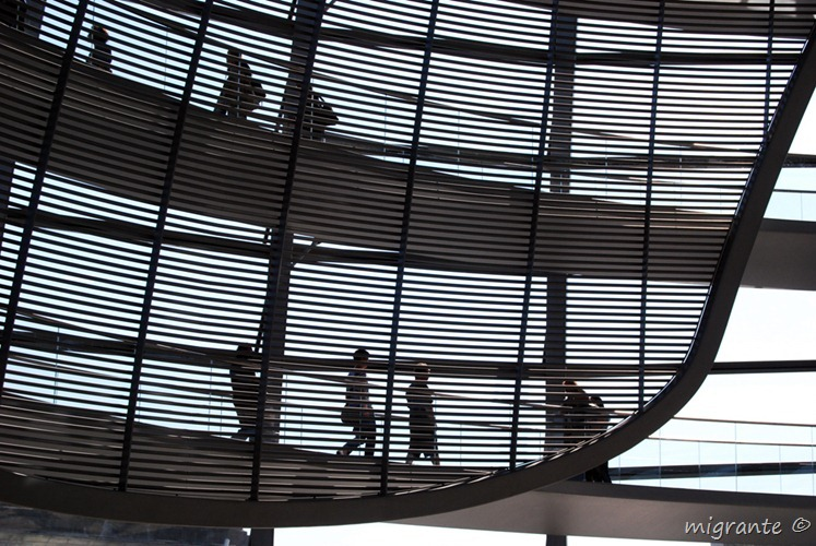 Tras la celosía - Reichstag - Berlin