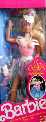 Barbie Ice Capades Doll 50 anniversary (1989)