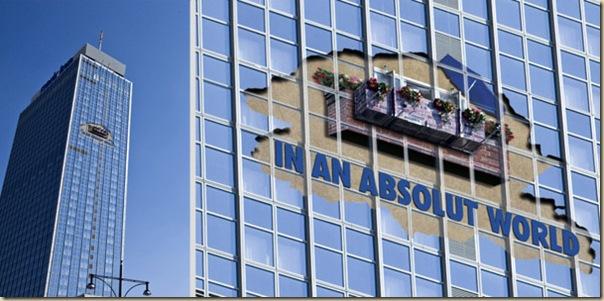 Publicités sur immeubles-absolut
