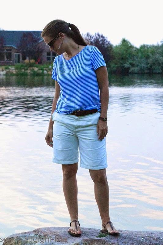 burda shorts shoreline tee sew a straight line-10