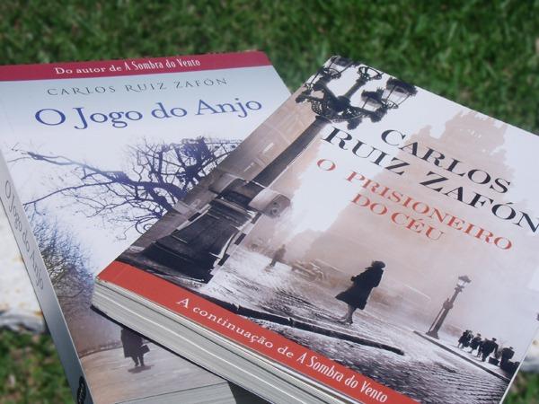 Meus livros do Zafón