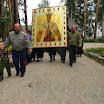 Прибытие крестного хода и Среднеуральский женский монастырь в честь иконы Божьей Матери Спорительница Хлебов 10 июля 2013 года.
