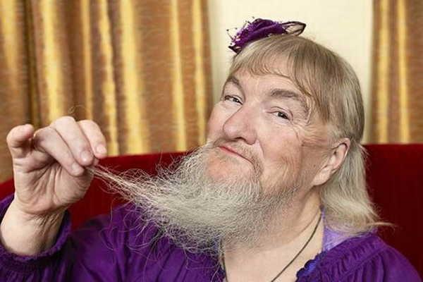 2- A maior barba feminina