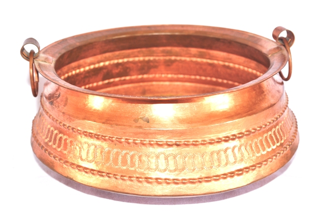 Copper Kota Flower Vase