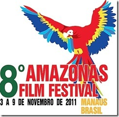 VIII Amazonas Filme Festival - cartaz do evento