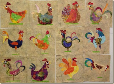 12 Funky Chickens