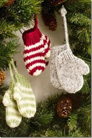 Knitting Dragonflies: Knitted Christmas Ornaments, free patterns