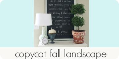 copycat fall landscape