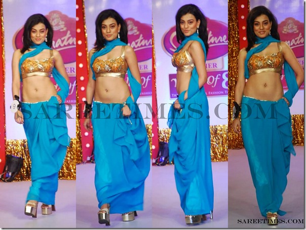 Signature_Fashion_Show_Blue_Designer_Plain_Saree