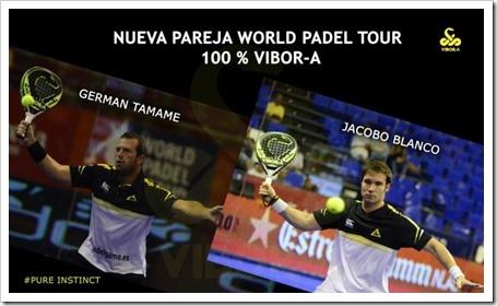 Germán Tamame y Jacobo Blanco, nueva pareja VIBOR-A para WPT 2015.