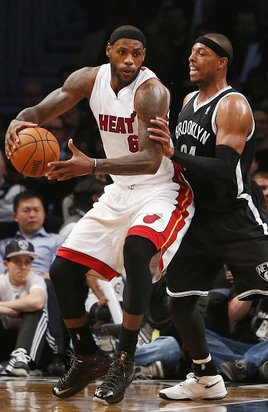 James Brings Back the LEBRON X Again in Loss to Brooklyn Nets