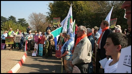Afrikaners 4Demo Against Farm Murders Verkenners May31 2012