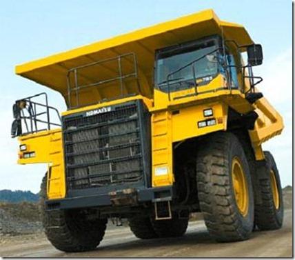 HD785 Dump trucks Australia Russsia Komatsu mining sector