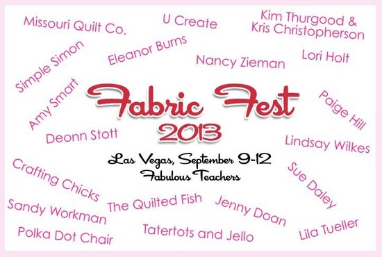 Riley Blake Fabric Fest 2013 in Las Vegas!