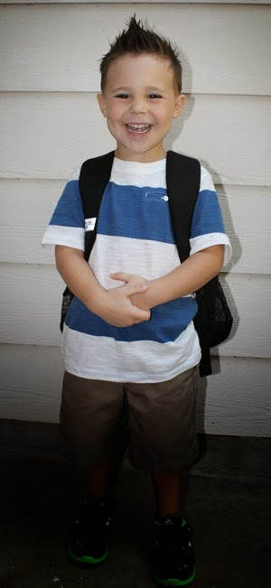Nash's First Day of Preschool 015