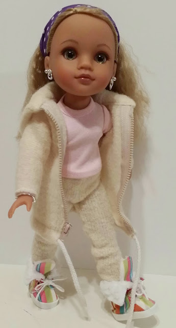 Lauryce Hearts4Hearts Doll in winter snow by CelenaLei