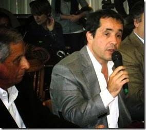 Director ejecutivo del Organismo Provincial para el Desarrollo Sostenible, Hugo Bilbao