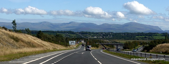 Snowdonia seen from Angelsey
