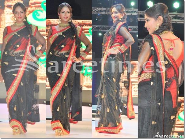 Lakshmi_Prasanna_Black_Saree