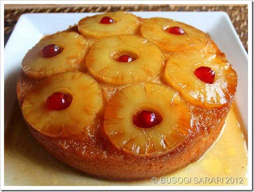 How to make an pineapple upside down cake