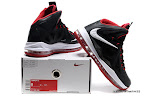 lbj10 fake colorway black white red 1 01 Fake LeBron X