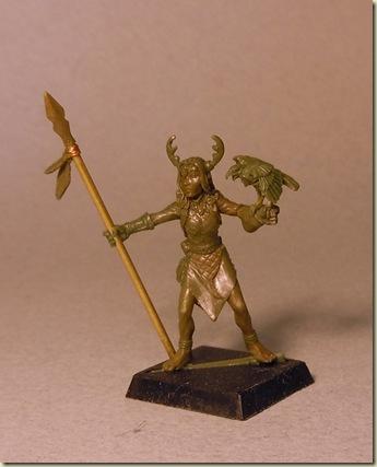 Female Half-elf Druid