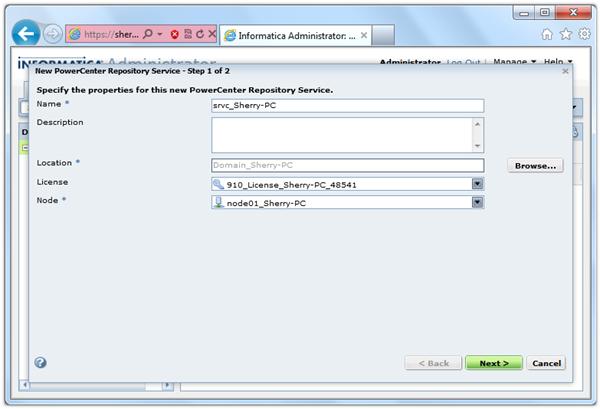 Informatica PowerCenter Repository Upgrade