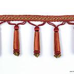 Taśma z koralami (dzwonkami) do zdobienia mebli, zasłon, tkanina, poduszek, abażurów.