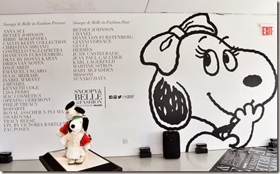 Peanuts X Metlife - Snoopy and Belle in Fashion Exhibition Presentation (Source - Slaven Vlasic - Getty Images North America) 10