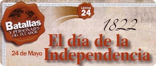 independencia ecuador