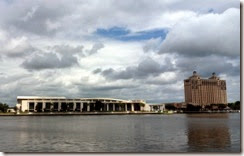 Savannah Convention Center across the River from the Historic District