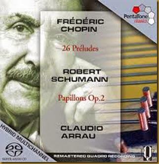 Chopin Preludios Arrau Pentatone