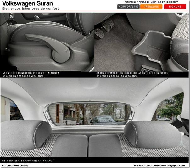 Suran 2010 interior confort