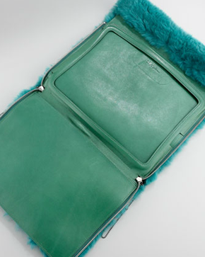 absinthe rabbit fur ipad case