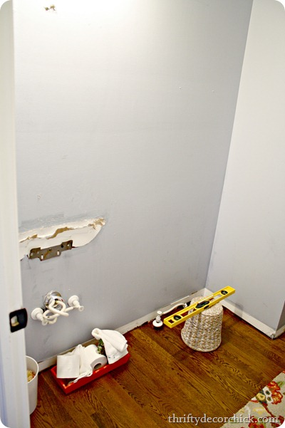 covering drywall damage