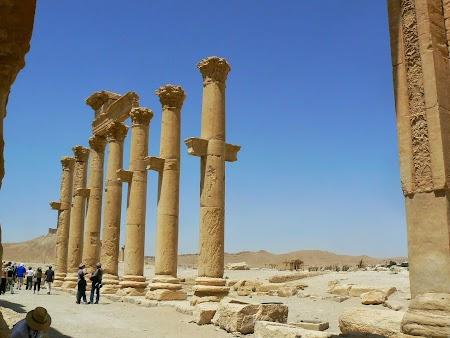 25. Ruine romane la Palmyra.JPG