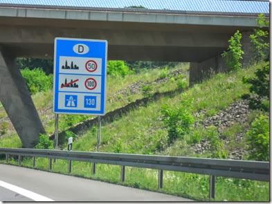 Allemagne - Limitation vitesse sur autoroute ~ 18.05-11 (1)