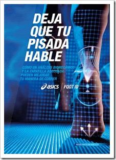 ASICS pone en marcha su Foot ID 2012: analiza tu pisada y recibe asesoramiento.