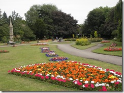 Public garden in P'boro