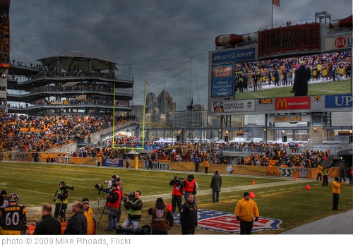 'Heinz Field, Steelers vs Packers' photo (c) 2009, Mike Rhoads - license: http://creativecommons.org/licenses/by/2.0/