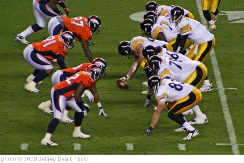 'Broncos / Steelers' photo (c) 2009, Jeffrey Beall - license: http://creativecommons.org/licenses/by-sa/2.0/