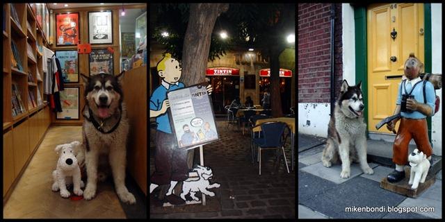 Bondi & Tintin in Brugge - Salamanca - Derry